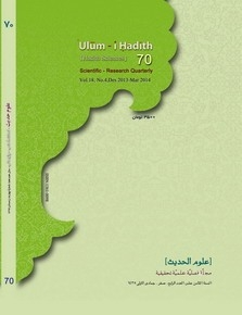 Ulum-i Hadith (Hadith Sciences) No. 70 Released