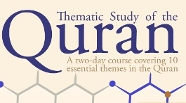 Thematic Study of the Quran Planned in London in Ramadan